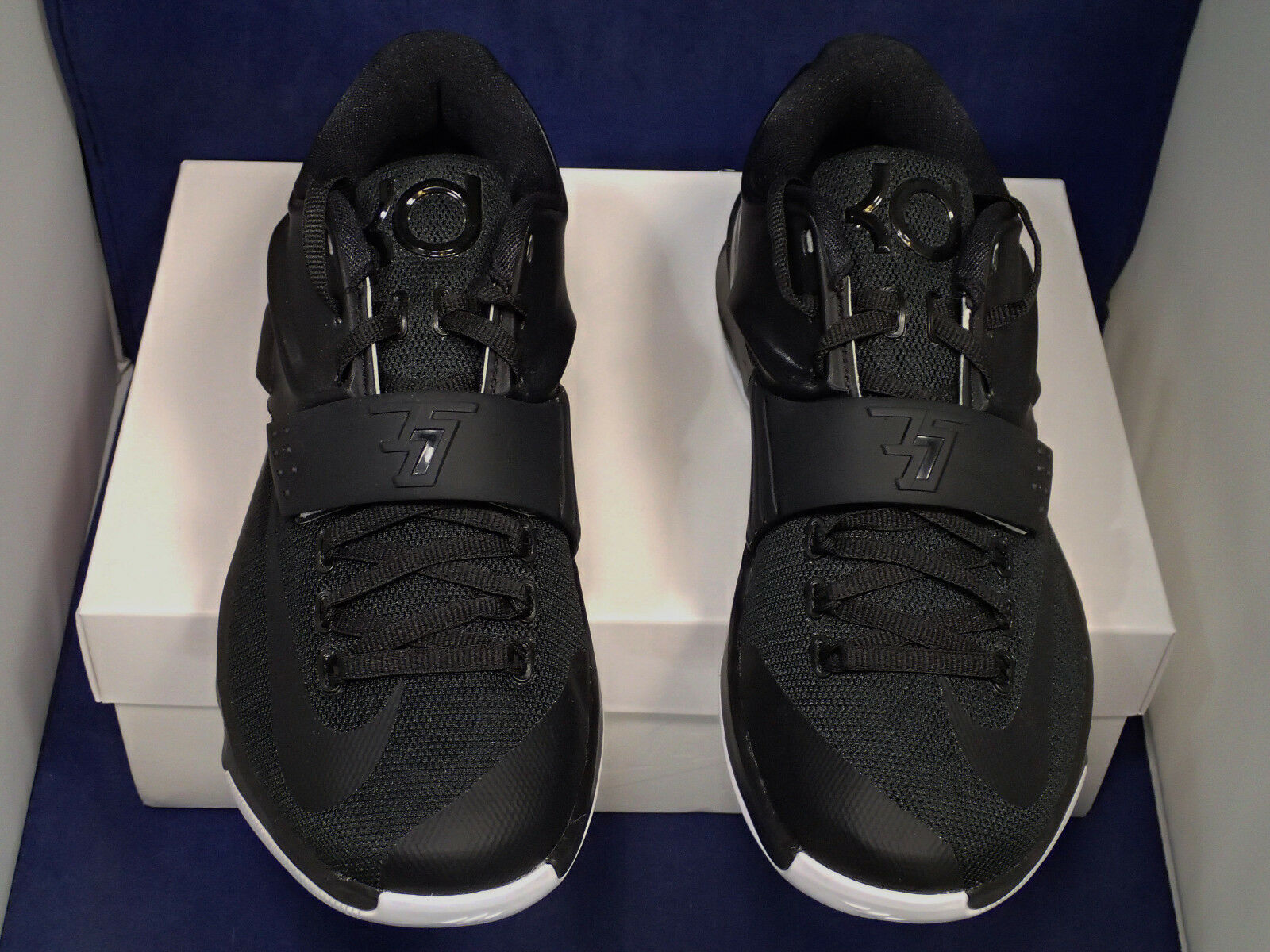 2015 Nike Kd VII VII VII Identifikation Schwarz Weiß Kevin Durant Sz Us 7 (704380-981) ae1ed3