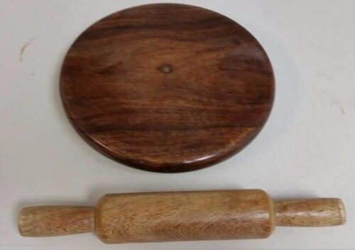 Hand Made Wooden Chakla Belan Rolling Pin Kitchen Utensils,Roti Maker Super
