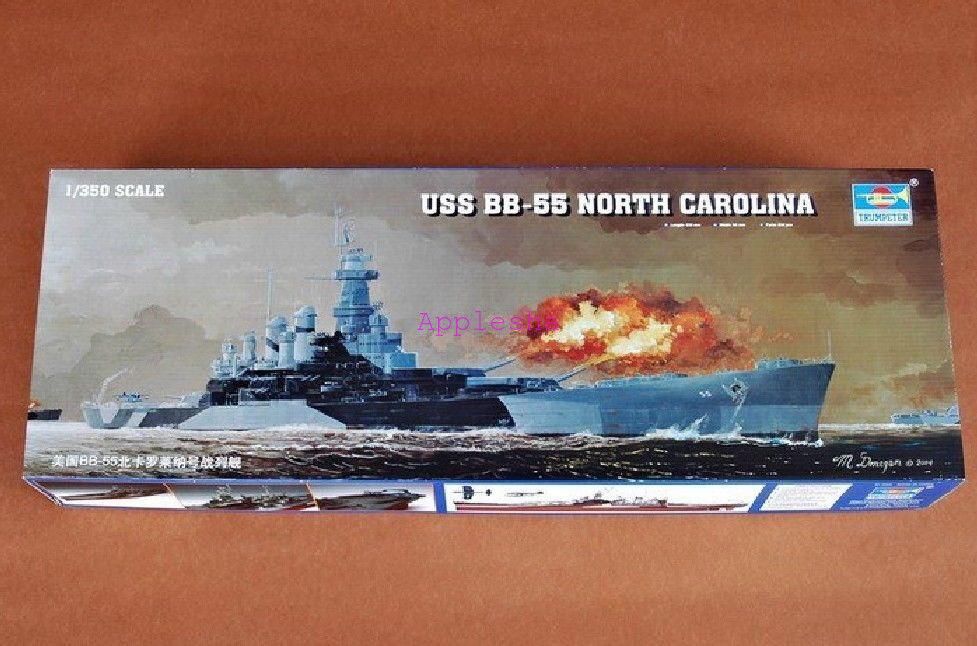 Trumpeter  05303 1 350 USS North Carolina BB-55