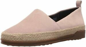 outlet store sale arrives cheap sale Details about BLONDO Bailey ESPADRILLE Flat WATERPROOF Suede LEATHER LOAFER  Jute SHOE Women sz