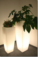 JUNO Decorative Flower Plant Pot Illuminated Led Light Lamp Garden Home 75 cm