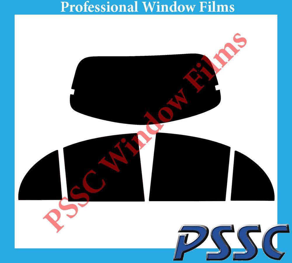 PSSC Rear Car Window Tint 10-16 Nissan Micra 5 Door Hatch