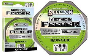 Angelschnur KONGER Steelon Method Feeder Fluorocarbon Coated Monofile 0,025 €//m