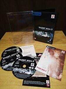 Silent Hill 2 directores De Corte De Pc-Inglés Versión en muy buena condición muy rara completa