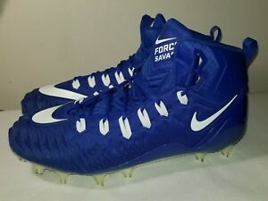 841b2120eefe Nike Men's Force Savage Elite TD Football Cleats Size 15 Royal Blue ...