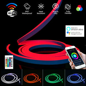 RGB-Neon-Flex-Light-IP67-Waterproof-10x20-DC12V-Indoor-Outdoor-RGB-Neon-Flex-LED