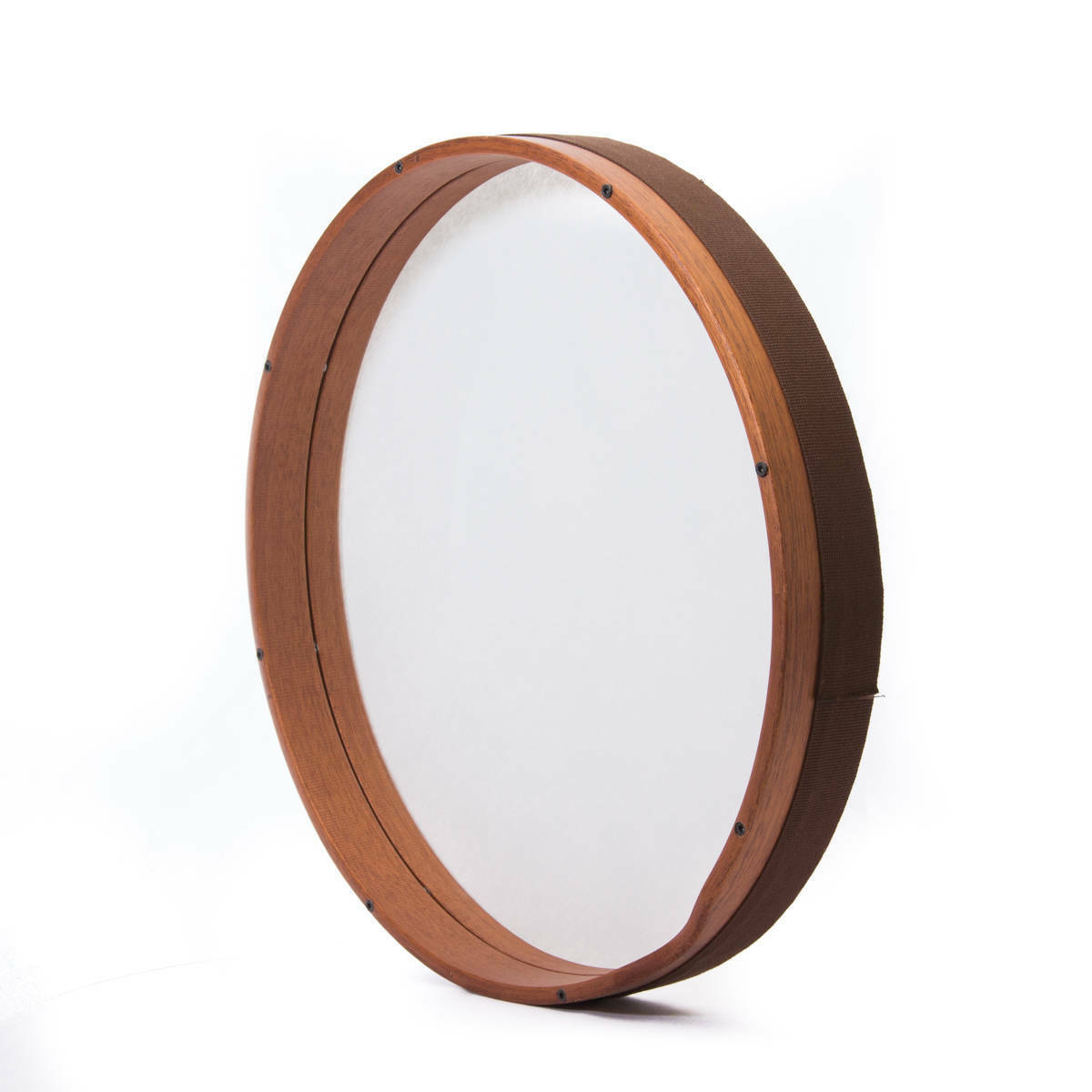 Professional Frame Drum BEndir 18  Mahogany wood In-Frame tuning Synthetic fiber