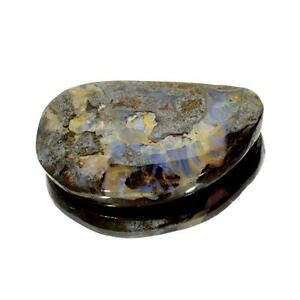 APP-3k-120-65CT-Free-Form-Cabochon-Brown-Boulder-Opal-Gemstone-Lot-1867927