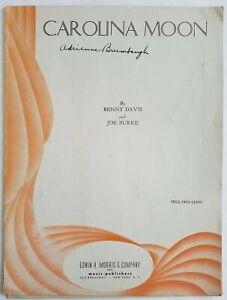 Carolina-Moon-1928-Sheet-Music-Benny-Davis-amp-Joe-Burke