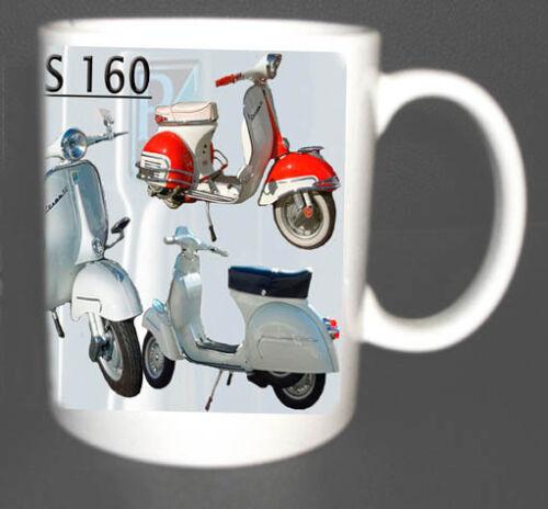VESPA GS 160 SCOOTER COFFEE MUG LIMITED EDITION.MODS *