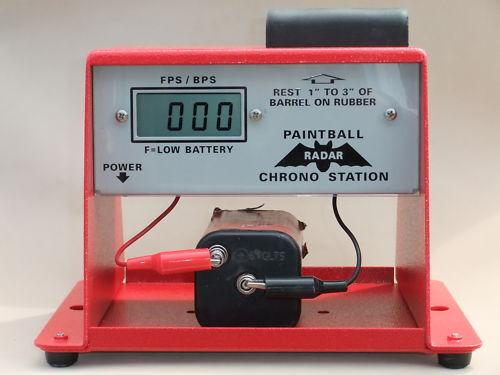 Paintball Radar Chrono Station - FPS & BPS FIELD CHRONOGRAPH