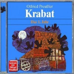 OTFRIED-PREUSSLER-KRABAT-DAS-1-JAHR-CD-8-TRACKS-KINDERHORSPIEL-NEU
