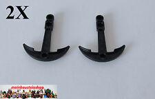 2X Lego® 95354 Boots- Schiffsanker Anker Boat Anchor Schwarz Black 4620400 NEU