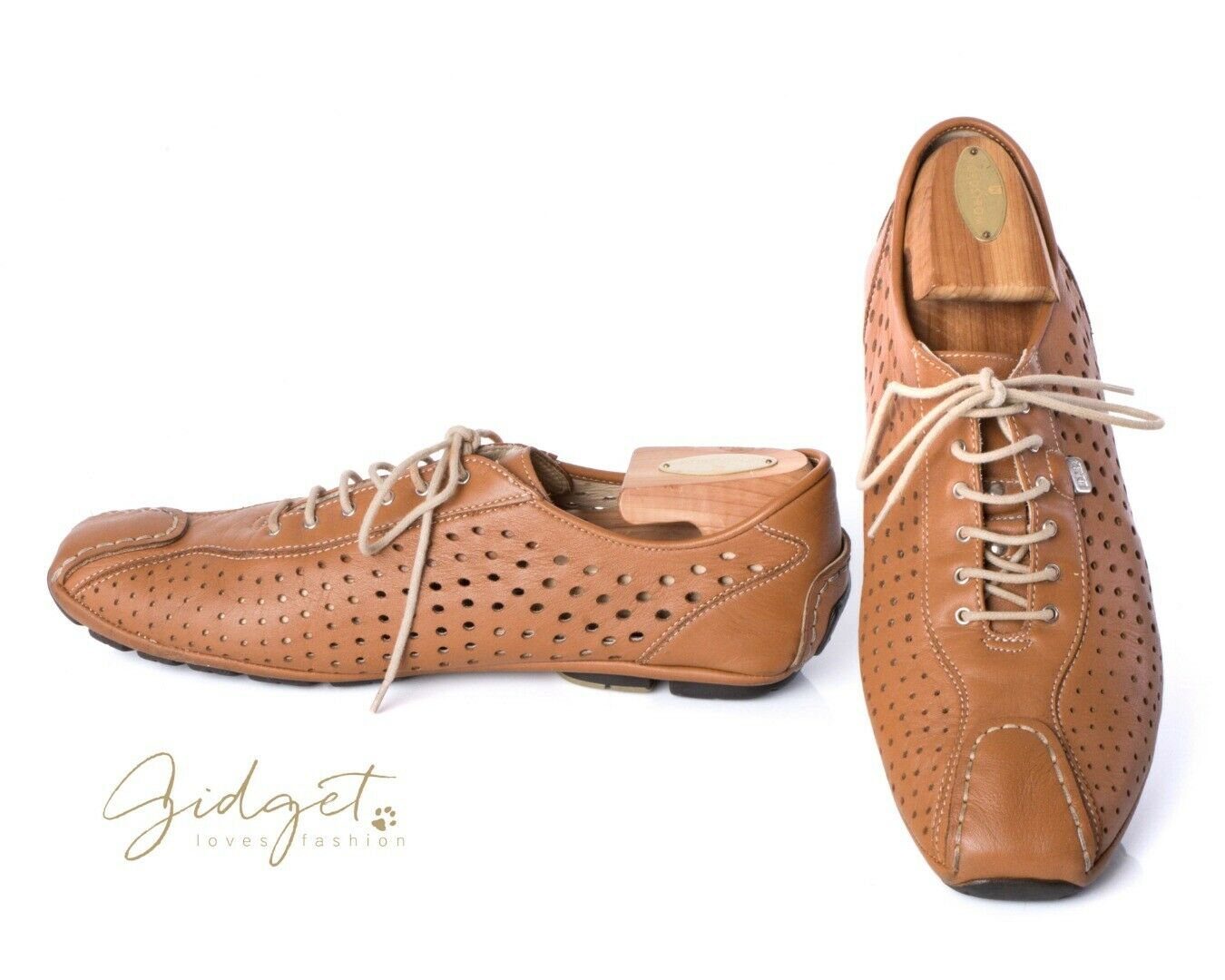 Dino Bigioni  Size 42   8.5 Brown Lace-Up Leather shoes Drivers