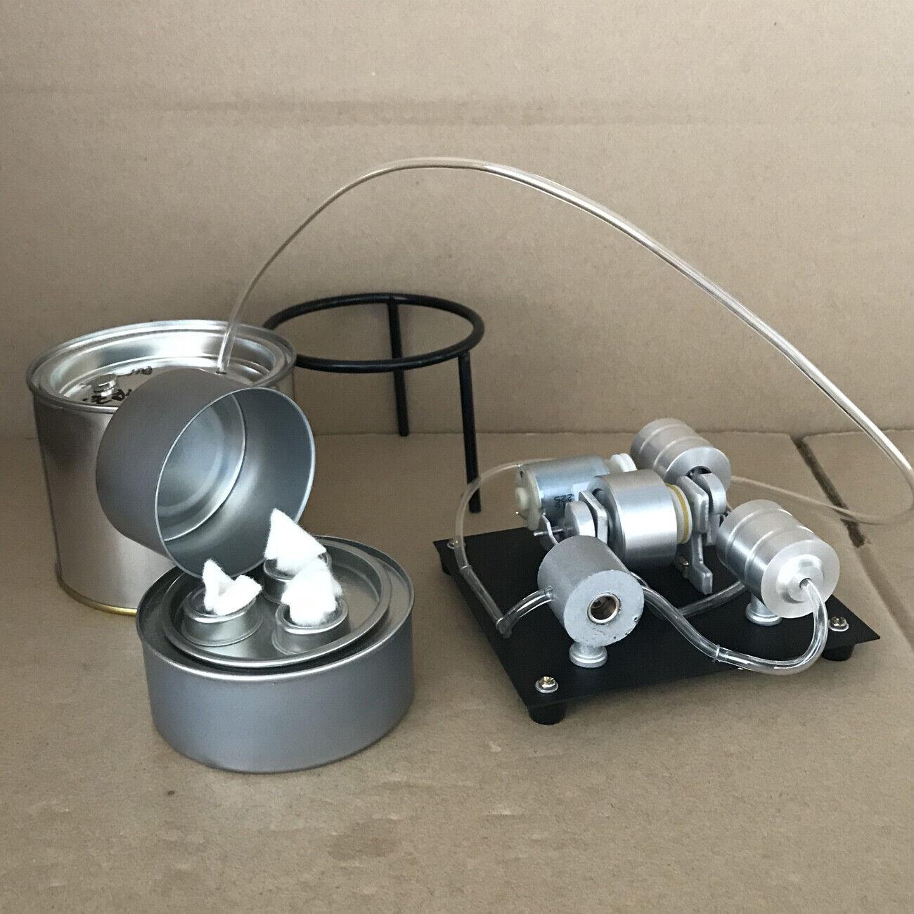 negozio a basso costo Mini Ssquadra Engine Motor giocattolo w    Boiler Ssquadra Heating Electricittà Generator Motor  spedizione gratuita