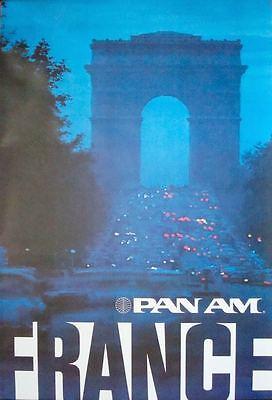 Sammeln & Seltenes Punctual Pfanne Am Airways Airlines Frankreich Paris Vintage Reisen Plakat 1972 28x42 Nm Sale Overall Discount 50-70%