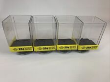 Uturn Vending Smallshort Canisters Lot Of 4 With Wheels And Covers Please Read