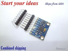 GY-521 6 DOF MPU-6050 Module 3 Axis Accelerometer Gyroscope Module for Arduino