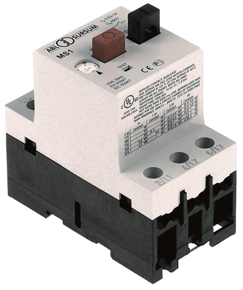 Etiquetado General Electric Mbs25-010 Interruptor Prougeector de Motor Para