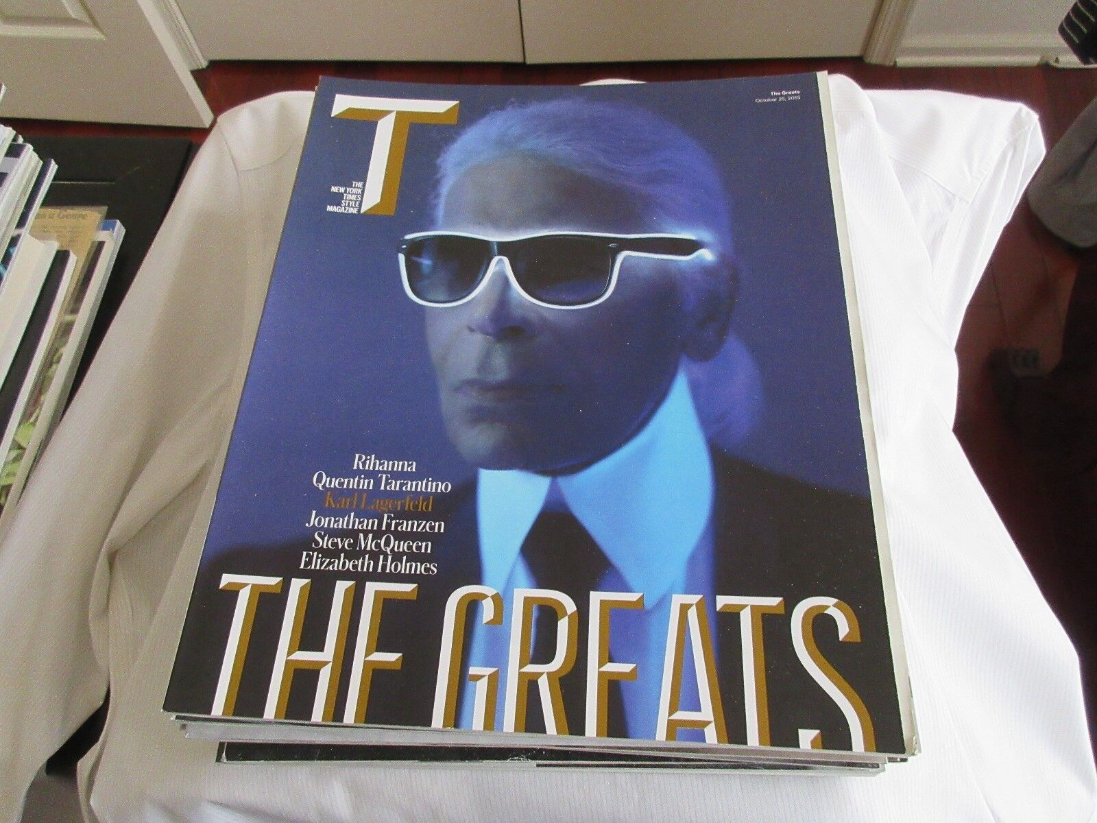 The Greats , New York Times Style Magazine Oct.25,2015