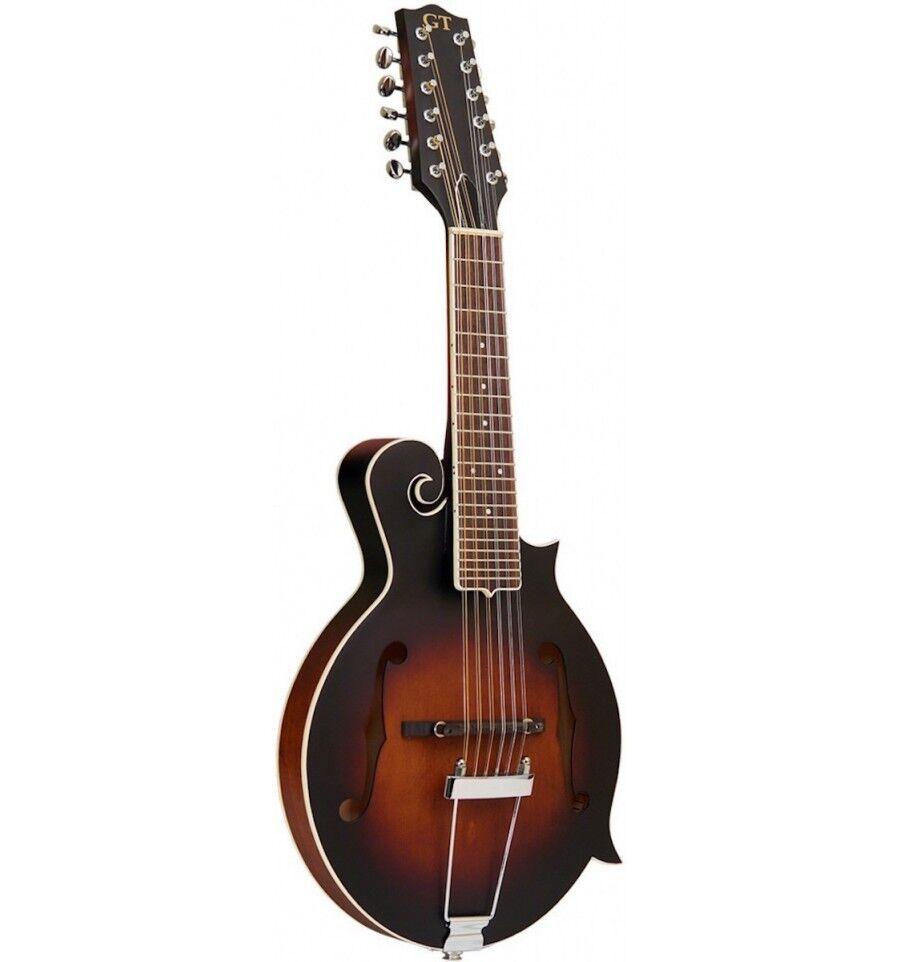 Gold Gold Gold Tone F12 - Mandoline 12 cordes type F micro et étui 5809c1