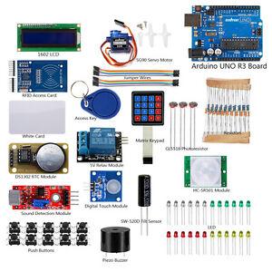 RFID-Starter-Learning-Kit-UNO-R3-Mainboard-for-Arduino-1602-LCD-Sensor-DIY