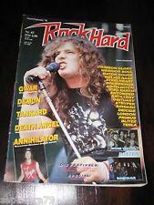 ROCK HARD Magazin orig. 1990 Nr.42 42/90 (Gwar, Demon, Tankard, Annihilator)