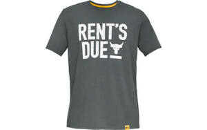 Under Armour Project Rock Rents Due Gray Shirt Mens 1345812-012