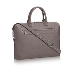 Details About Louis Vuitton Porte Doents Jour Gray Graphite Infini Leather Lv Bag Brand New