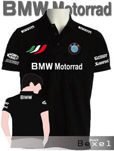 Tshirt Sport Nero Polo Motorrad Tuta Motorshow Team 2 Bmw Disp Col Felpa Italia UqFqRS47z