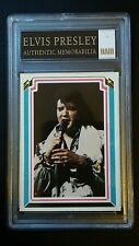 ELVIS PRESLEY CERTIFIED PIECE OF HAIR WITH CARD & COA Authenic Memorabilia