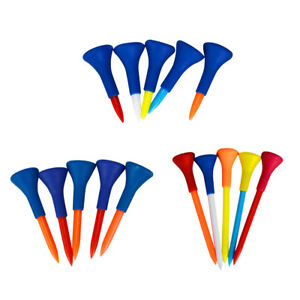 15-Pieces-Soft-Rubber-Cushion-Top-Golf-Tees-Random-Color-42mm-54mm-83mm