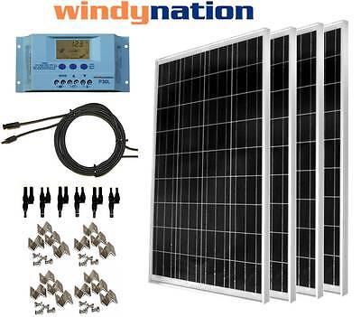Panel Solar 400W Monocristalino 12v 24v 48v para todos tipos de instalaciones solar