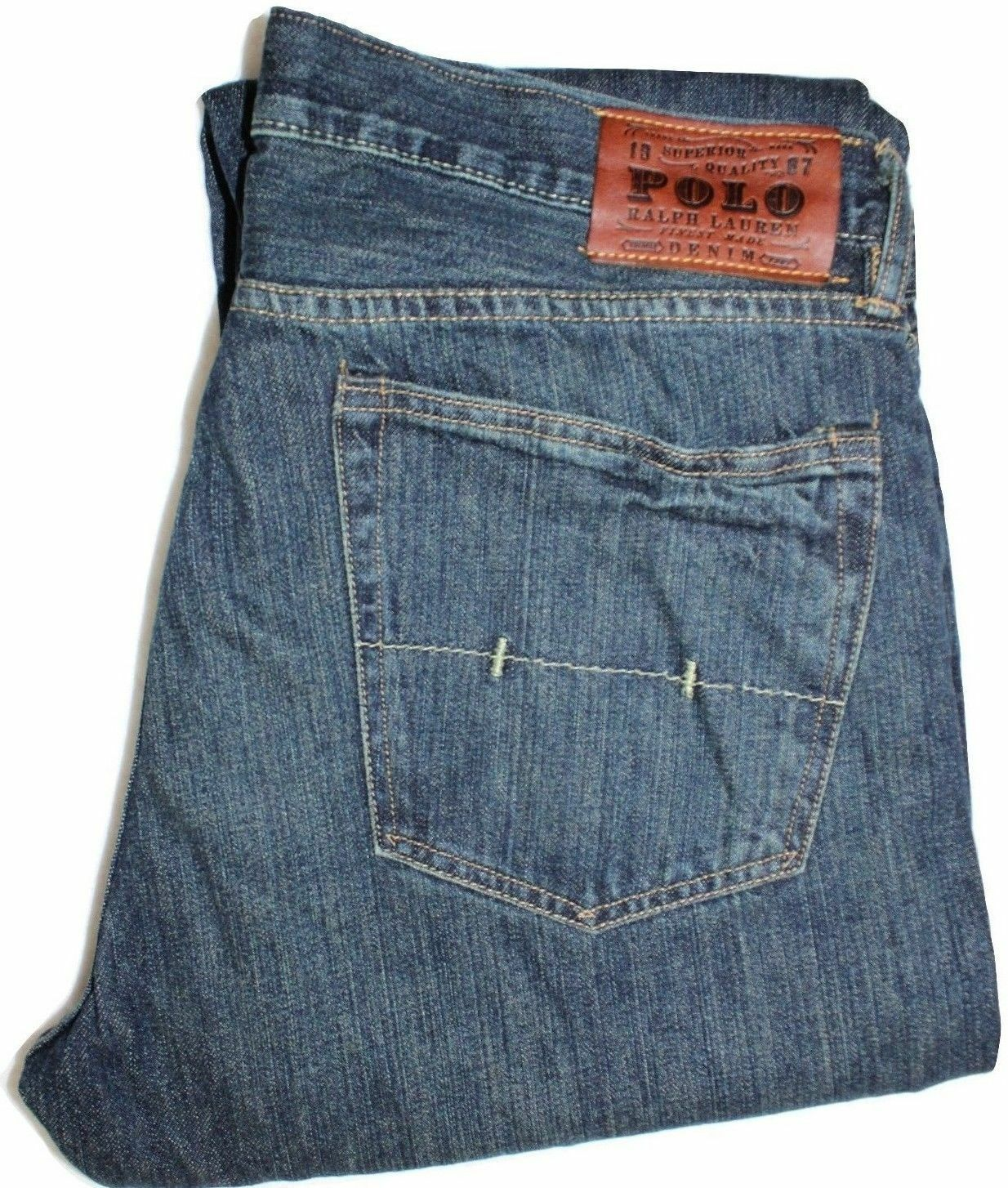 Polo Ralph Lauren Classic 867 Jeans Warren 34X30 NWT