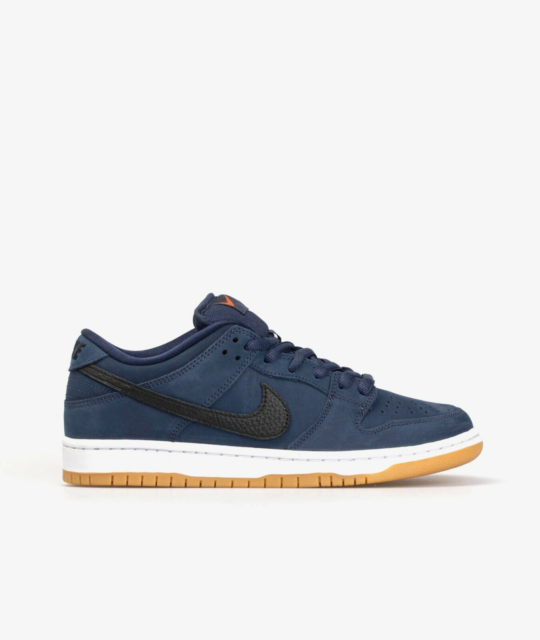 Sneakers, Nike SB Orange Label Dunk Low, str. 44,5,  Blå,…