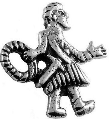 Neu Replikat Fund Daugmale Zwerg Andvari Amulett 925silber 10.jh Figur Sigursaga