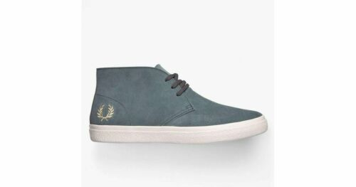 A19 Authentic Shoes Suede Light Blue US 9 EU 42 2020 Fred Perry B7105