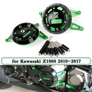 CNC-Engine-Stator-Frame-Slider-Cover-Protector-Guard-For-Kawasaki-Z1000-10-2017