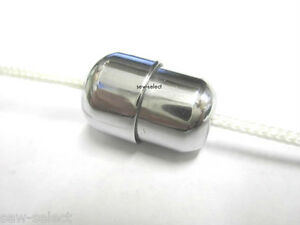 Chrome Cord Connector Roman Blind Amp Light Pull Silver