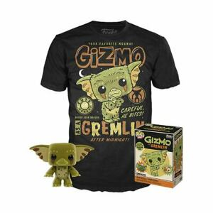Gremlins-POP-amp-Tee-Box-Gizmo-POP-amp-T-SHIRT-SET-X-LARGE-SIZE-FUNKO-POP