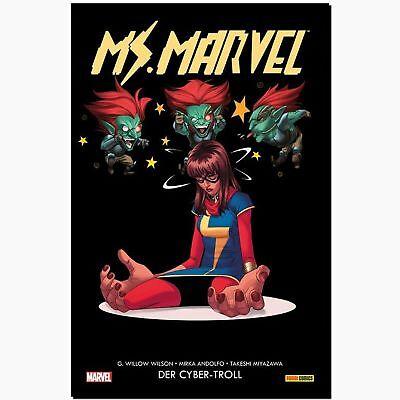 MS. MARVEL 3 DER CYBER TROLL Komplette Story mit Heldin a. AVENGERS Panini COMIC