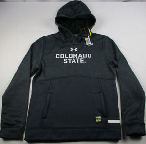Colorado-State-Rams-Under-Armour-Storm-Sideline-Fleece-Hoodie-Youth-M-L-XL-NWT