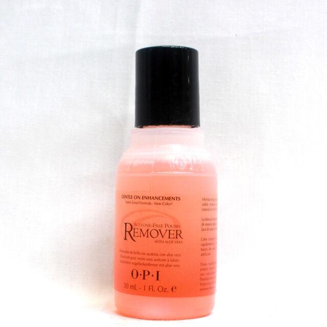 OPI Nail Polish Remover Acetone W/ Aloe Vera Fresh Travel 1fl Oz ...