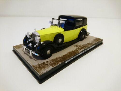 Rolls Royce Phantom III James Bond 007 Goldfinger 1:43 Diecast Modellauto DY097