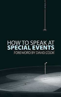 1 of 1 - How to Speak At Special Events, , Very Good Book