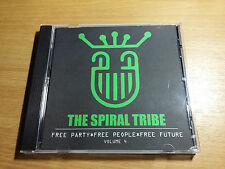 SPIRAL TRIBE CD Vol. 4 - NEW WAVE REMIXES. When In Rome OMD Red Flag B-Movie