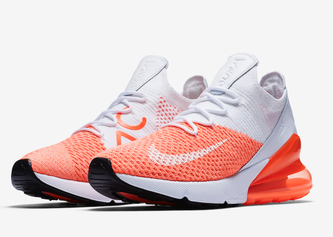 Nike Air Max 270 flyknit taille UK 6 EU 40 AH6803-800