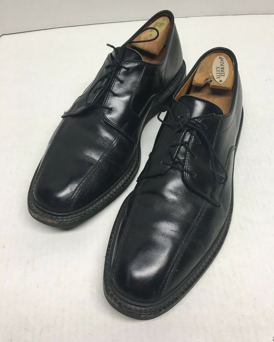 Allen Edmonds Sierra Black Formal Lace-up Leather shoes Size 101 2 D Style  0904