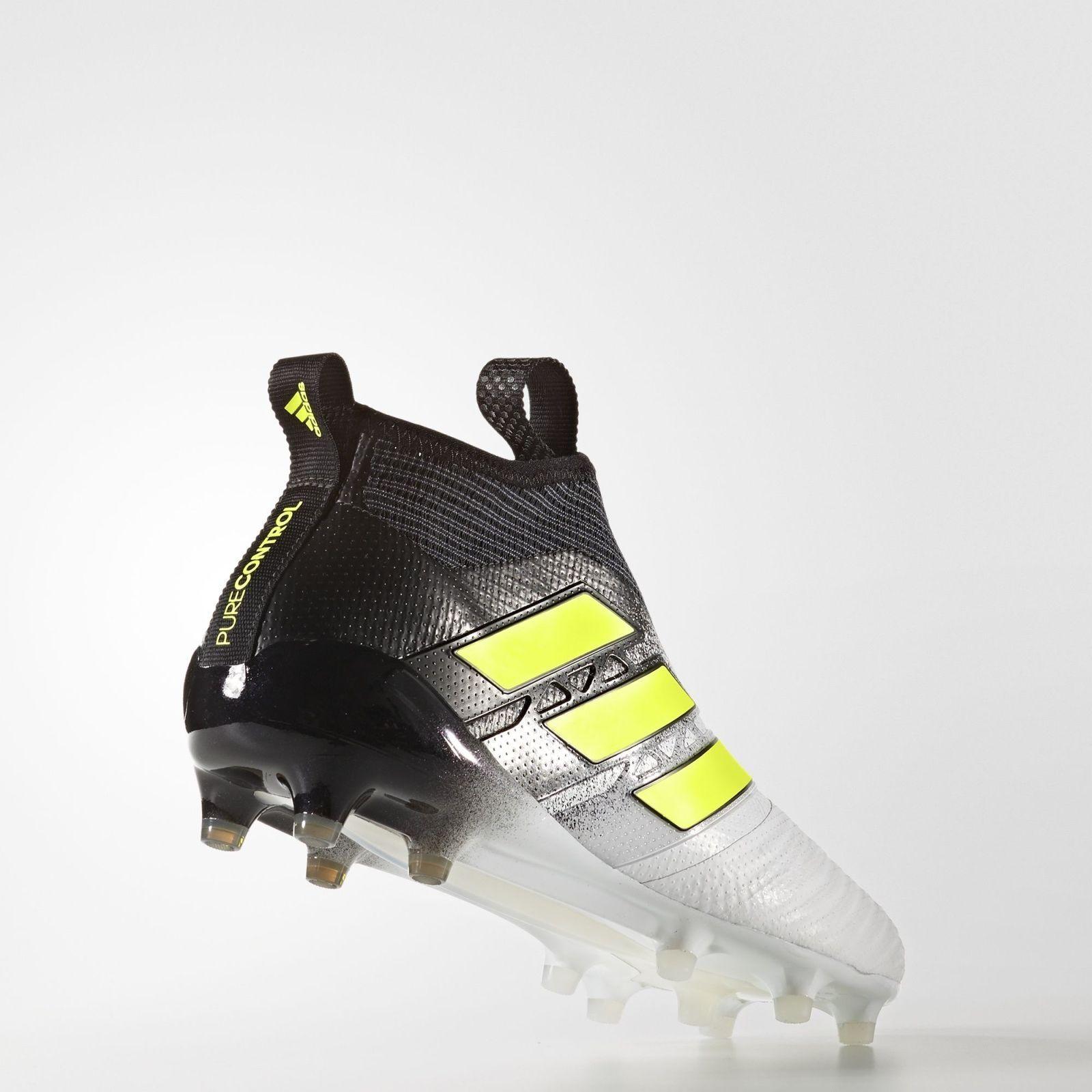Nuevo Adidas ACE 17+ purecontrol Botines de de de tierra firme para hombre Blanco 5149e3