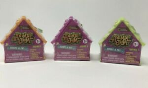 Animal Jam Adopt A Pet Series 1 Lot of 3 NEW SEALED Colors Will Vary